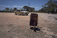 Stan, the car, at The Great Dividing Range :: Queensland, Australia