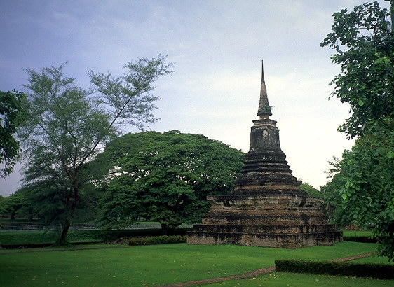 Pile of Bricks &eq; Stupa<br>Sukhothai, Thailand: Sukhothai, Thailand : Ruins and Restorations.