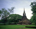 Pile of Bricks &eq; Stupa :: Sukhothai, Thailand