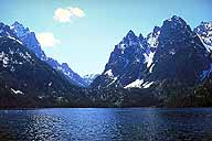 Cascade Canyon, across Jenny's Lake :: Grand Teton National Park :: Wyoming, USA