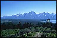 The Grand Tetons from Signal Mountain :: Grand Teton National Park :: Wyoming, USA