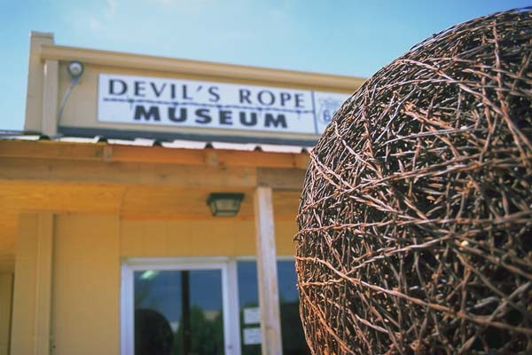 Devil's Rope Museum<br>McLean, Texas: McLean, Texas, United States of America : Museums.