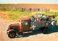 Jalopy :: Between Adrian and Vega, Texas