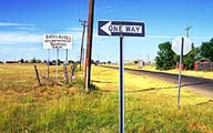 A little roadside humour :: Just west of Amarillo, Texas