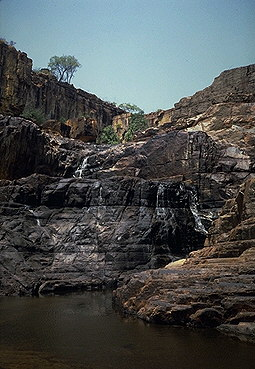 Twin Falls<br>Kakadu National Park<br>Northern Territory, Australia: Twin Falls, Northern Territory, Australia : The Natural Order; Geological Formations.