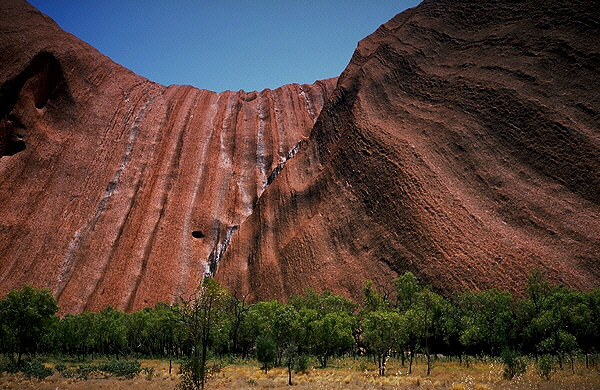 Uluru (Ayers Rock)<br>Northern Territory, Australia: Uluru (Ayer's Rock), Northern Territory, Australia : Geological Formations; The Natural Order.
