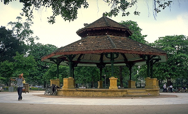 French Gazebo<br>Hanoi, Vietnam: Hanoi, Vietnam : City Scenes; People You Meet.