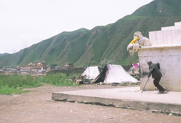 Xiahe :: Labrang Si (Tibetan Lamasary): Xiahe -- Labrang Si, Gansu, People's Republic of China : People You Meet.