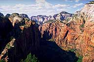 Northerly View toward The Temple of Sinawava :: and The Narraows :: Angel's Landing Trail :: Zion National Park :: Utah, USA