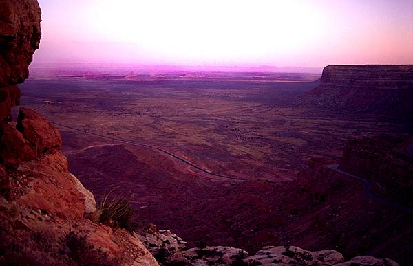 Near Mexican Hat<br>Utah, USA: Utah, United States of America : Landscapes.